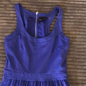 Cynthia Rowley navy blue casual cocktail dress